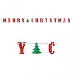 Letter Banner Merry Christmas365 cm