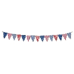 Banderin 4th July Fabric  3.35m