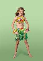 Disfraz de Carnaval Luau para Niña - 5-7 Años