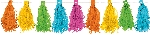 Guirnalda Multi-Colours Tassel Garlands 3m