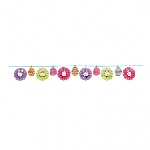Fan Banner Garland Happy Easter