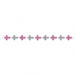 Guirnalda Pink Religious Ring Garlands