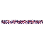 Guirnalda 4th July USA Tinsel Decoration 2.74m