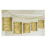Guirnalda Gold Lantern Garlands 3.65m
