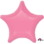 Bright Bubble Gum Pink Star