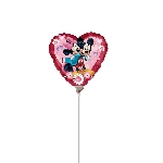 "9"" MINI MICKEY & MINNIE CORAZON"