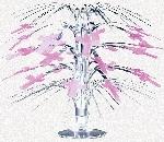 Decoracion Radiant Cross Pink Mini Cascade Centrepiece - 21.5cm