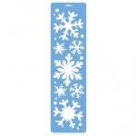 Spray Snow Stencil 55 x 15 cm