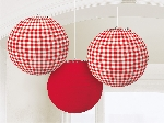 DECOR. COLGANTE FAROLILLO:PICNIC PARTY
