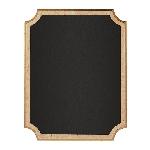 Pizarra Small Easel Chalkboard MDF Sign 18cm x 23cm x 2cm