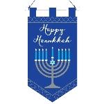 Pancarta Hanukkah Menorah Felt Banners