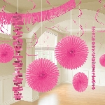 Kit Decoracion Bright Pink Room Decoration Kit