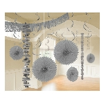 Decoracion Colgante Silver Room Decoration Kit