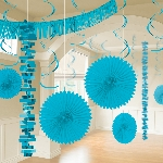 Kit Decoracion Caribbean Blue Room Decoration Kit