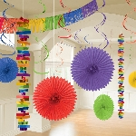 Kit Decoracion Rainbow Room Decoration Kit