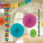 Kit Decoracion Multi Colour Room Decoration Kit