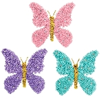 BUTTERFLY MINI TINSEL 3D