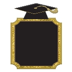 Pizarra Graduación - 17cm x 22cm -