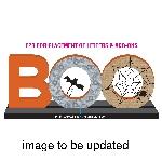 Boo Mdf Sign 40Cm X 14Cm
