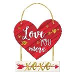 CARTEL LOVE YOU MORE DELUXE 2 PIECE MDF 26.6CM X 36.8CM