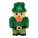 TINSEL LEPRECHAUN DECORATION