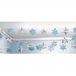 String Decoration Snowflake 254 cm