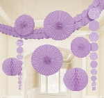 Kit Decoracion Lilac Damask Party Decoration Kit
