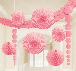 Kit Decoracion Light Pink Party Decoration Kit