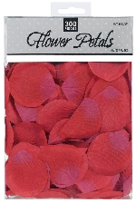 302 Rose Flower Petals Red