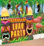 Deco ParedLuau Party Giant Decorating Kits 2 Room Rolls