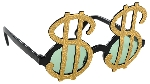 Gafas Fun Shades Dollar Signs Tinted