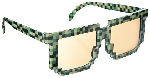 Gafas Fun Shades Pixilated Green Tinted
