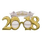 GLASSES GLITTER 2018 NY GLD