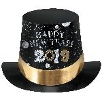 Sombrero 2019 Happy New Year Prismatic Top Hats