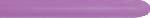 GLOBO LATEX NEON VIOLETA 5cmX150cm