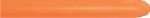 GLOBO LATEX NEON NARANJA 5cmX150cm