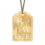 Etiquetas BEST DAY EVER GOLD