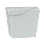 Caja Silver Quart Pail 11cm h