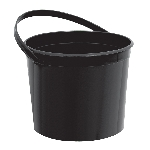 Cubo Plastico Negro