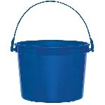 Cubo Royal Blue Plastic Bucket 11cm h x 13cm dia