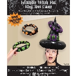 INFLTBLE WITCH HT RING TOSS GM