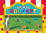 Juego:GOLF ANIMAL HOLE SET