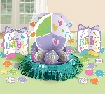 Centro de Mesa Welcome Baby Table Decoration Kit