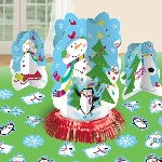 KIT TABLE DEC JOYFUL SNOWMAN