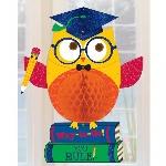 Decoración Nido Abeja HNG GLTR GRAD OWL
