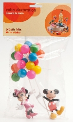 KIT TARTA MICKEY & MINNIE (PLASTICO)