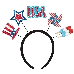Diadema 4th of July Patriotic Head Boppers