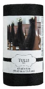 Tull Spool Black 59.4m x 15cm