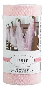 Tull Spool Pink 59.4m x 15cm