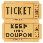 Tickets Ticket Rolls
